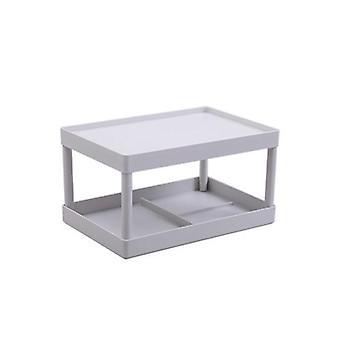 Desktop opslag rack keuken plastic opslag rack badkamer aanrecht cosmetische plank| Opslag
