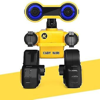 Robotic toys rc robot smart programmable touch sing dance robots toy for children christmas gift vs r4|rc robot yellow