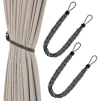 Hand Knitted Curtain Tiebacks Simple Curtain Ties And Accessories