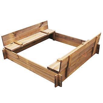 Chunhelife Sandbox Carré de bois imprégné