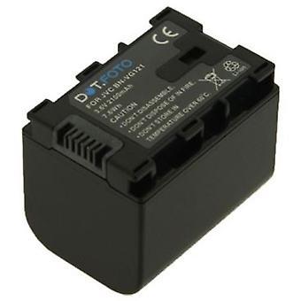 Dot.Foto JVC BN-VG121 sostituzione della batteria - 3.6 v / 2100mAh