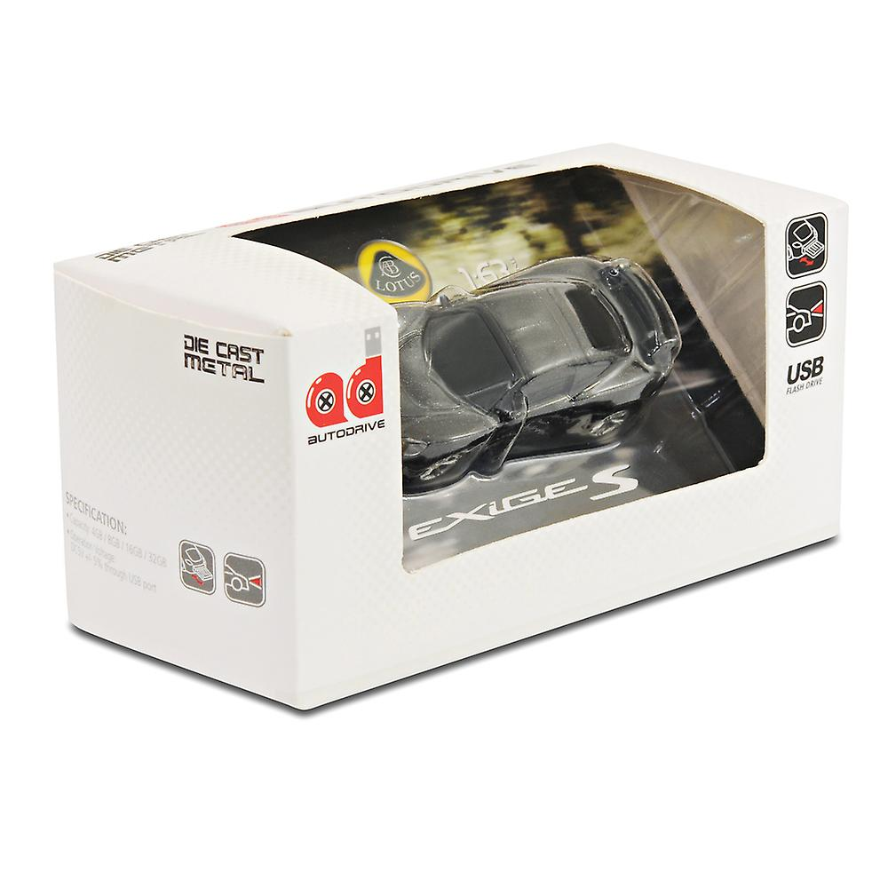 Lotus Exige S Car USB Memory Stick Flash Drive 8Gb - Black