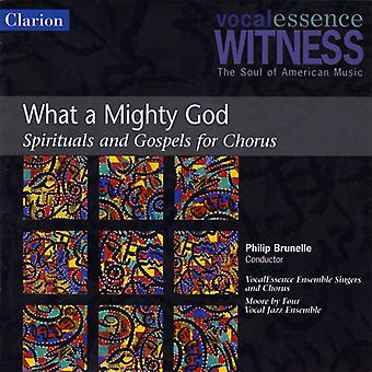 Vocalessence - What a Mighty God: Spirituals and Gospels for Christmas [CD] USA import