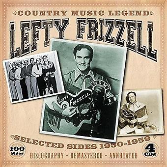 Lefty Frizzell - Country Music Legend-Selected Sides 1950-1959 [CD] USA import