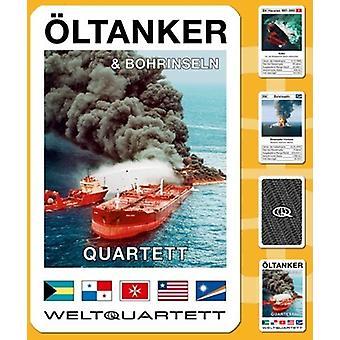 Öljytankkeri kvartetin onnettomuuksia öljy korttipeli