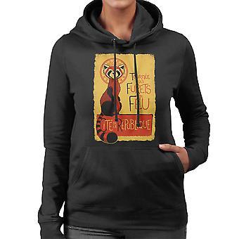 Les Furets de Feu Legend Of Korra Women's Hooded Sweatshirt