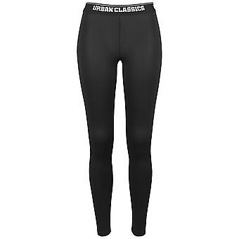 Urban classics damer - sport Leggings svart