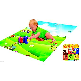 Play Mat Rug Baby Toddler Children Kid Double Sided Foam Padded With Case Various Sizes