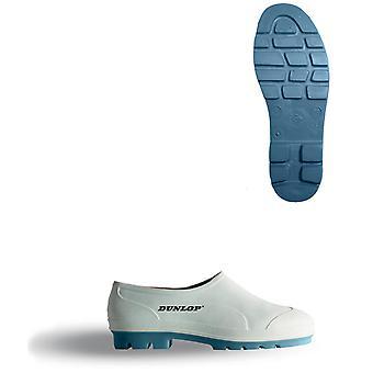 B-Dri Dunlop weißen Wellie Schuh weiß - Wg
