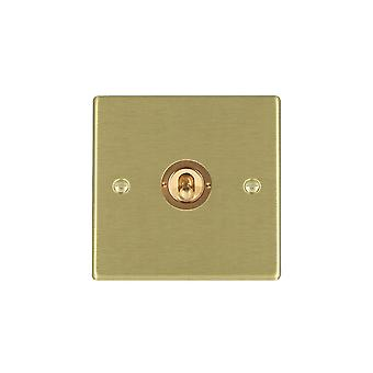 Hamilton Litestat Hartland Satin Brass 1g 20AX DP Toggle SB