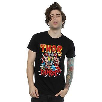 Marvel miesten Thor Thwak T-paita