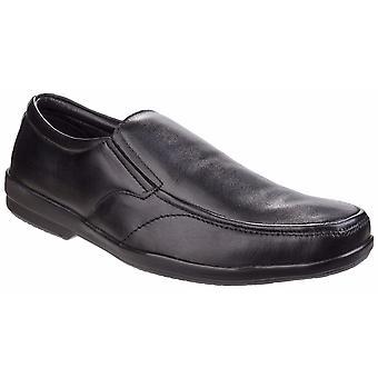 Fleet & Foster Mens Alan Formal Apron Toe Slip On Shoes
