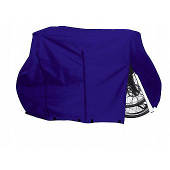 Motorhome 2 Bike Cover Zipped in a colourfast waterproof breathable material
