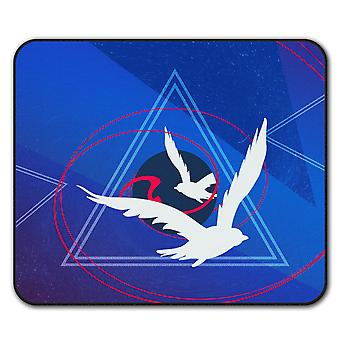 Bird Flight  Non-Slip Mouse Mat Pad 24cm x 20cm | Wellcoda