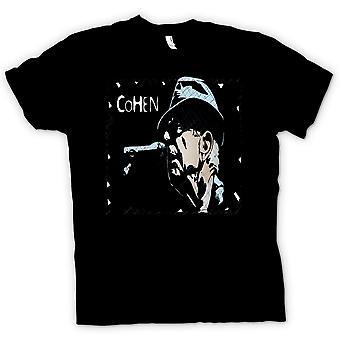 Herren T-Shirt - Leonard Cohen Legend