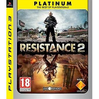 PS3 Resistance 2 - Factory Sealed
