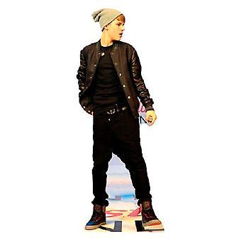Justin Beiber on stage Lifesize Cardboard Cutout