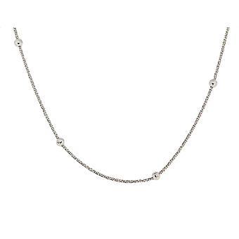 Orphelia srebro 925 42 + 3 Cm łańcuch kulki ZK-7201