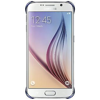 Original Samsung EF-QG920BBE clear transparent cover for Galaxy S6 black
