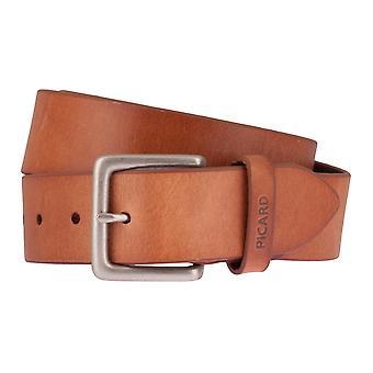 PICARD belts men's belts leather belt Cognac 2512