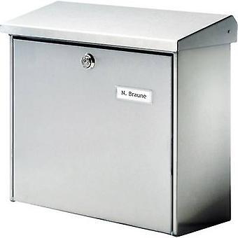 Burg Wächter 4190 COMFORT 3913 NI Letterbox Stainless steel Silver Key