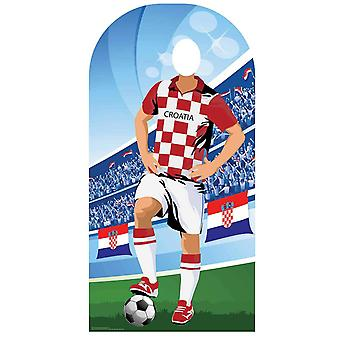 World Cup 2018 Croatia Football Cardboard Cutout / Standee Stand-in