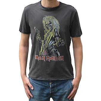 Amplificata Iron Maiden Killers Crew Collo T-Shirt