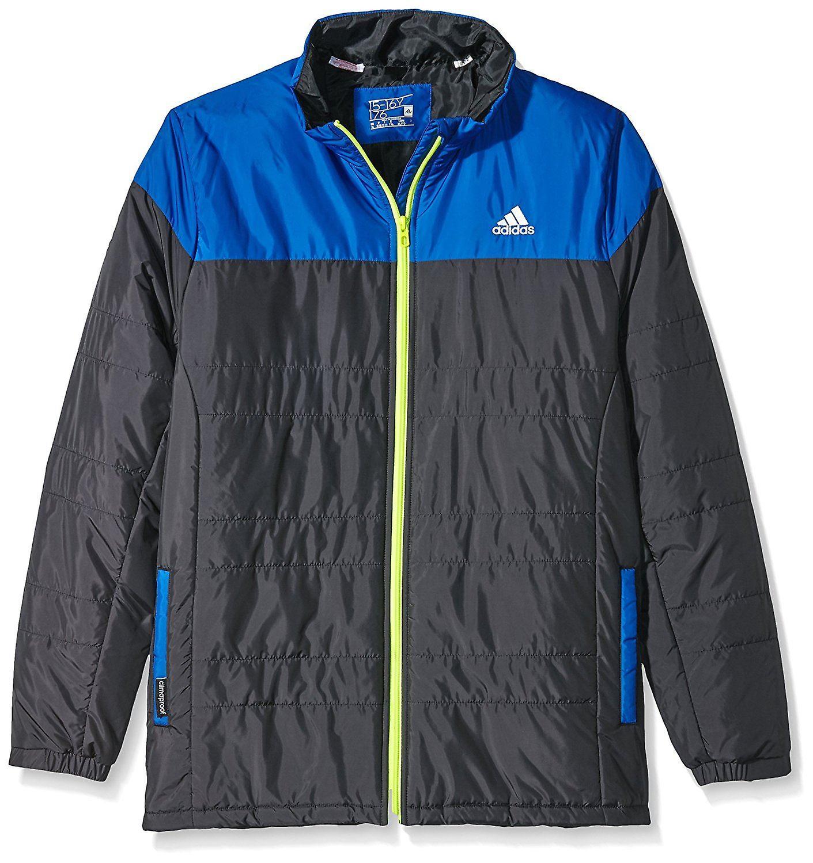 Adidas Childrens lett jakke svartblå størrelse: 116 alderen 5 6Y