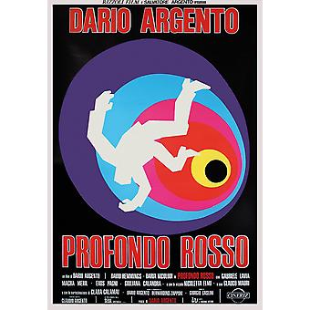 Profondo Rosso poster Italiaanse filmposter (David Hemmings)