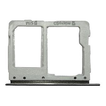 Simkartenhalter for Samsung Galaxy tab S3 9,7 / T825 3 G version kortet bakke sort reservedele nye