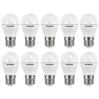20 x Sylvania ToLEDo Ball Dimmable E27 V3 5.6W Daylight LED 470lm [Energy Class A+]
