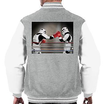 Original Stormtrooper Boxing Match Men's Varsity Jacket