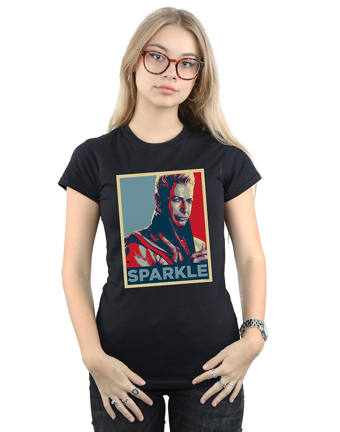 Marvel Women's Thor Ragnarok Grandmaster Sparkle T-Shirt