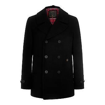 Merc DOYLE, men's wool pea coat