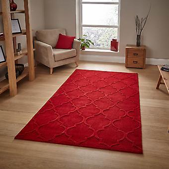 Hong Kong Hk8583 dywaniki w kolorze czerwonym