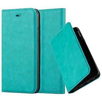 Cadorabo hoesje voor Apple iPhone X / XS case case cover - telefoon hoesje met magnetische sluiting, standaardfunctie en kaartvak - Case Cover Beschermhoes Boek Vouwen Stijl