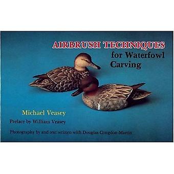 Airbrush-Techniken für Wasservögel Carving
