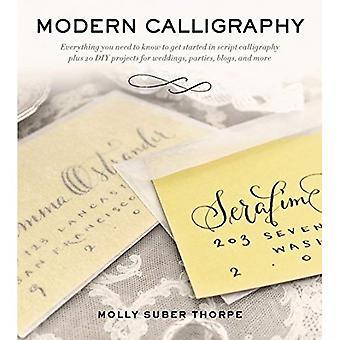 Moderni kalligrafia