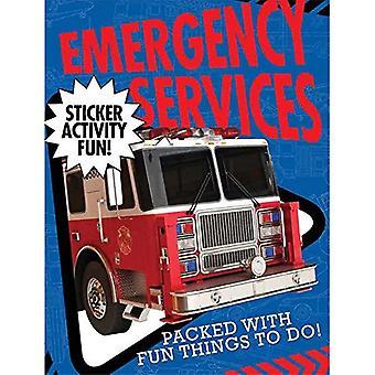 Services d'urgence autocollant activité Fun