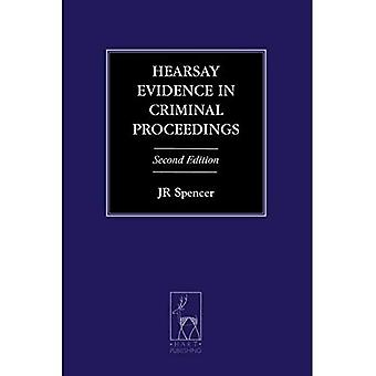 Hearsay Evidence in Criminal Proceedings (Criminal Law Library)
