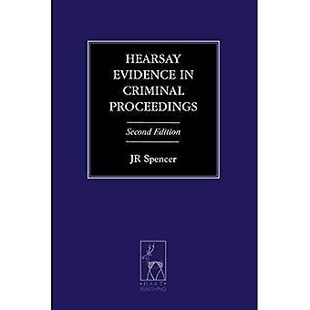 Geruchten bewijzen in de strafprocedure (Criminal Law Library)
