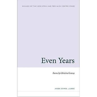 Jämna år (veken första diktsamling)