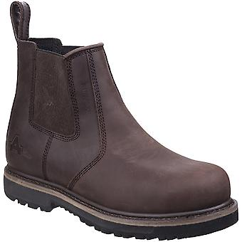 Amblers Mens AS231 Goodyear Welted Safety Dealer Boots