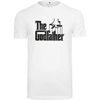 Merchcode shirt - Godfather logo shirt White