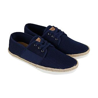 Gola Slipway  Mens Blue Retro Low Top Lace Up Lifestyle Sneakers Shoes