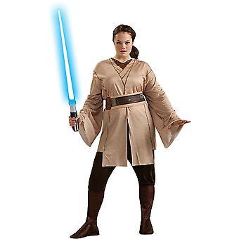 Jedi kvinnelige Star Wars Adult kostyme