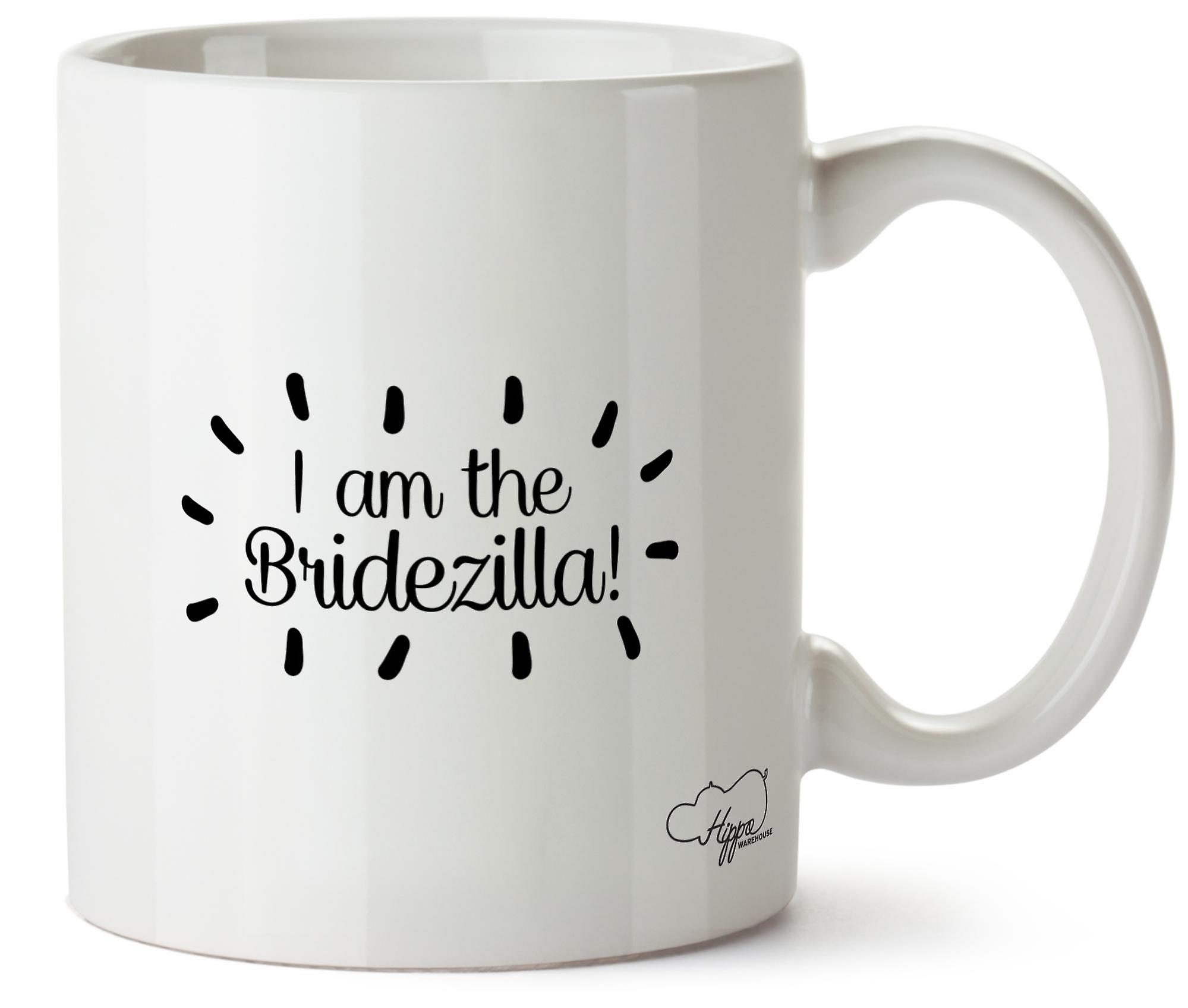 Hippowarehouse, я Bridezilla напечатаны Кубка керамическая кружка 10oz