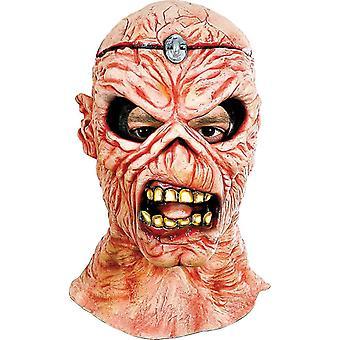 Jus rétro masque en Latex pour Halloween