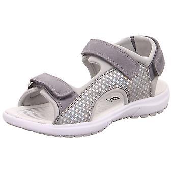 Les filles Superfit Rainbow 9205-25 sandales gris
