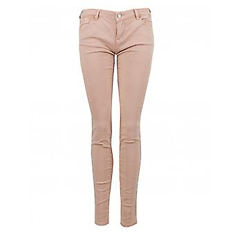 Emporio Armani Cropped Mid Rise Jeans